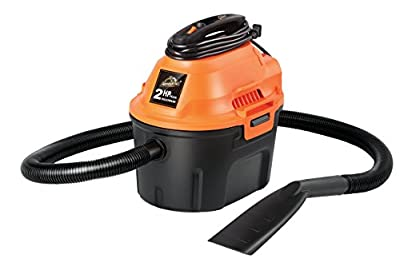Armor All 2.5 Gallon, 2 Peak HP, Utility Wet/Dry Vacuum, AA255 (Renewed)