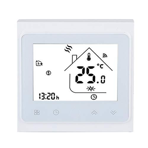 DAUERHAFT Controlador de Temperatura Termostato Inteligente Almacenamiento de Memoria con Control Remoto App