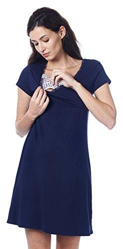 Noppies Still-Nachthemd Susa Damen Umstandsmode Nachtwäsche Nachthemd 20557-L