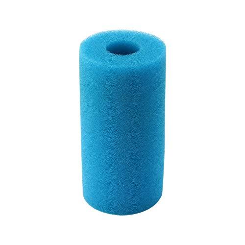 Konesky Filtro de agua para piscina Intex tipo A lavable y reutilizable piscina Filtro de espuma Esponja de cartucho