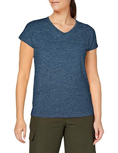 CMP Damen T-Shirt Melange Piquet 30T7226, blau, 42