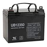 Universal Power Group 12V 35AH SLA Battery for US Automatic Sentry 300 Swing Solar Gate Opener