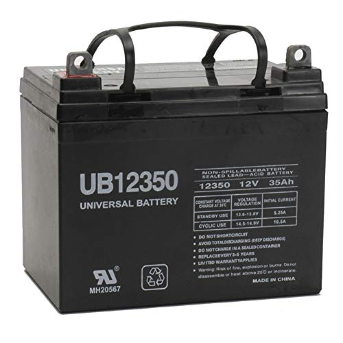 Universal Power Group 12V 35AH Battery for John Deere Lawn Garden...