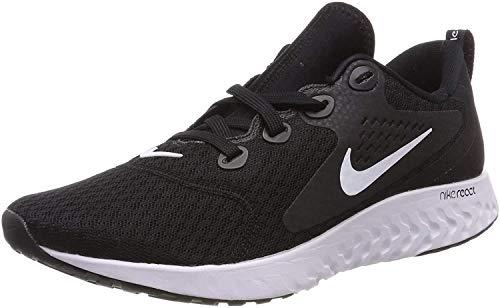 Nike Herren Legend React Sneakers, Schwarz (Black/White 001), 41 EU