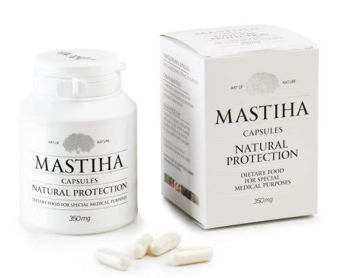 Chios Mastic Mastix 90 Kapseln natürlicher Schutz 350mg (in Sichtverpackung)