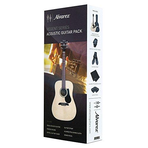 Alvarez RD26S-AGP Regent Series Guitar, Natural/Gloss