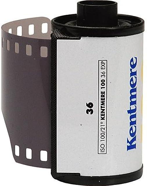Kentmere 6010465 Película Negativa (100 ASA 35 mm 36 exposiciones) Color Blanco