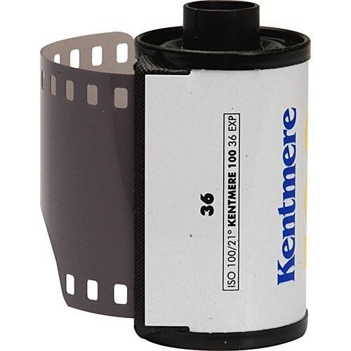 Kentmere 6010465 Película Negativa (100 ASA, 35 mm, 36 exposiciones), Color Blanco