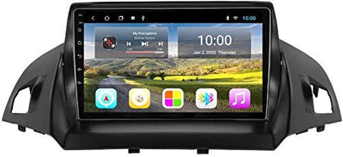 Coche GPS Multimedia Player Es Adecuado para Ford Kuga 2013-2017 Android con La Máquina Integrada De Navegación Bluetooth Toque Completo,8core 4g WiFi:2+32gb