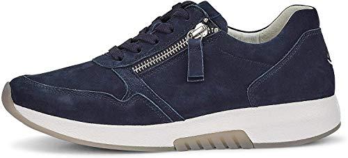 Gabor Rollingsoft Sneaker in Übergrößen Blau 46.945.46 große Damenschuhe, Größe:44