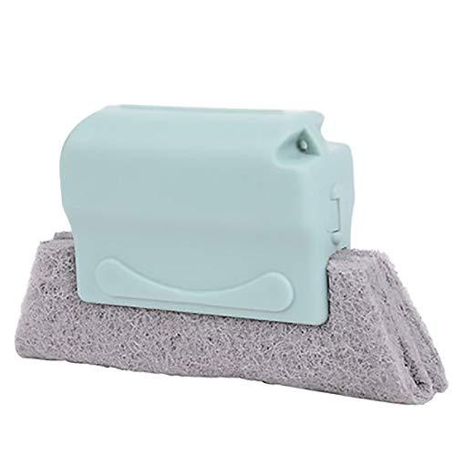 Herramientas de limpieza para el hogar Ventana Groove Cepillo de limpieza - Útil microfibra ventana cepillo de limpieza de aire más limpio Acondicionador plumero con el paño de limpieza de la hoja per