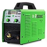 Reboot Saldatrice MIG 150A IGBT 230V 1KG gas e senza gas MIG/ARC/Lift TIG/Torcia Spool 5 in 1 filo pieno inverter saldatrice MMA MIG MAG