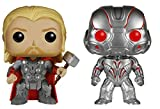 Avengers Marvel'S Age of Ultron Funko Pop Vinyl Figures Set of 2 Thor and Ultron