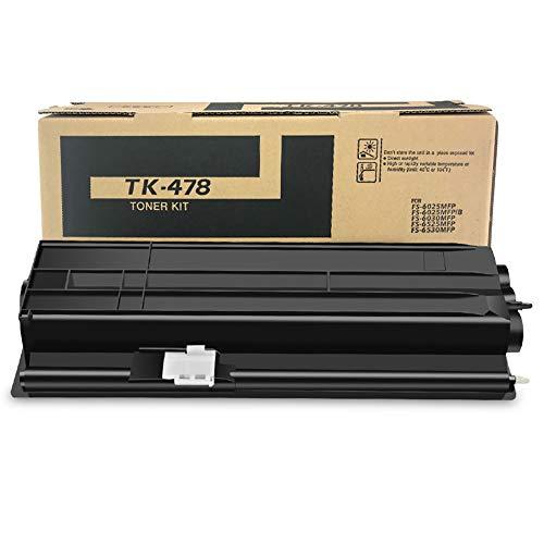 YCYZ Modelo TK-478 Cartucho de tóner compatible para Kyocera FS-6025MFP/6030MFP/6525MFP/6530MFP, 15000 páginas
