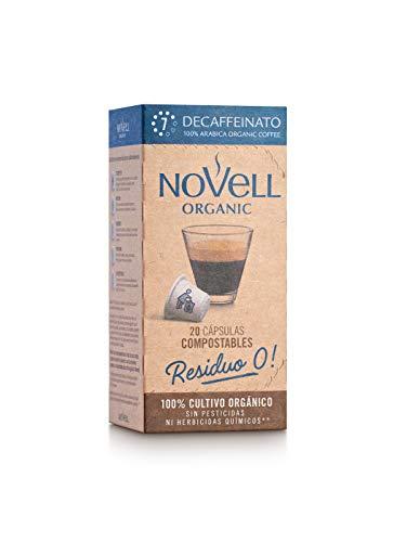 Cápsulas Compostables con café Ecológico - Decaffeinato -