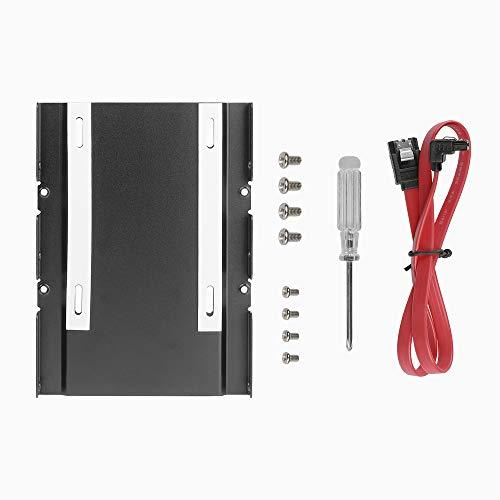 Antec SSD-Halterungs-Set, 3,5 Zoll (3,5 cm), Schwarz, mit SATA-Kabel