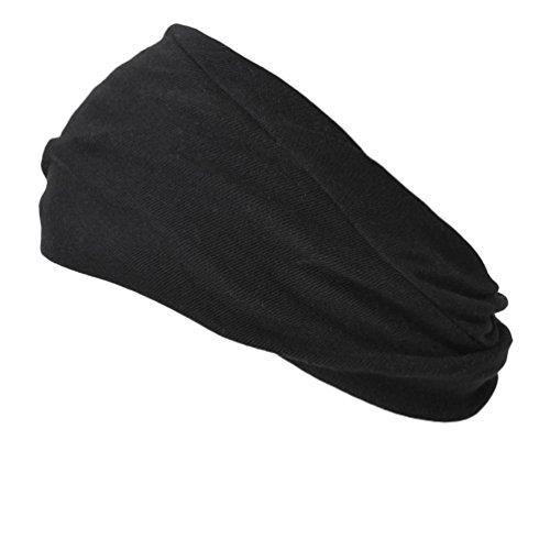 Womens Headband Yoga Hairband - Mens Organic Cotton Headwrap Chemo Wrap
