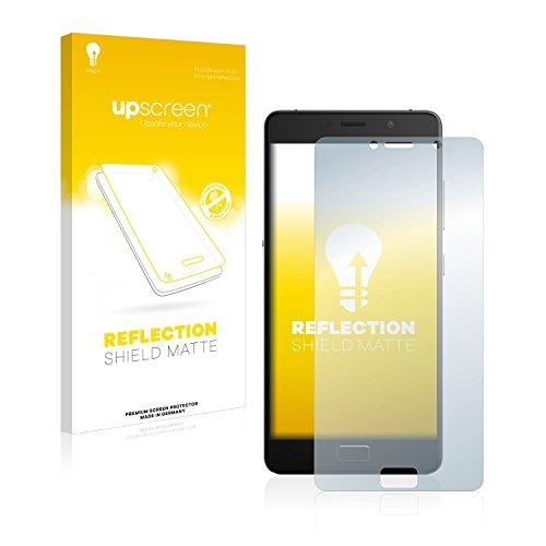 upscreen Entspiegelungs-Schutzfolie kompatibel mit Lenovo P2 – Anti-Reflex Bildschirmschutz-Folie Matt