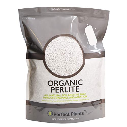 Organic Perlite by Perfect Plants for Drainage Management (8qts.)