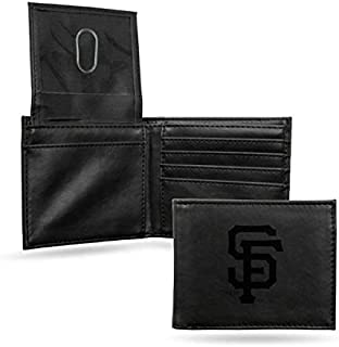 Rico Industries San Francisco Giants Black Leather/Manmade Billfold