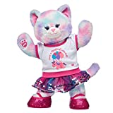 Build A Bear Workshop Online Exclusive Pastel Swirl Kitty Magical Birthday Gift Set