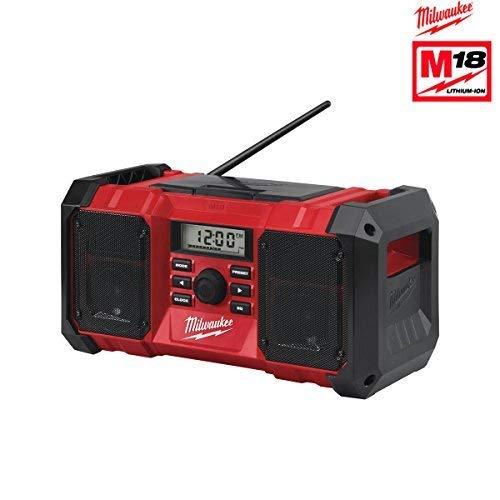Milwaukee - Radio 18V De Obra Resistente A Caídas Con Conector Usb Y Salida Auxiliar, Ver-0
