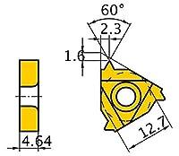 三菱マテリアル 丸 DIN 405 30°インサート MMT22ER350ISO:VP10MF 【5個入り】