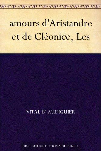 Couverture du livre amours d'Aristandre et de Cléonice, Les