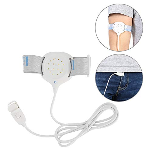 Alarma de enuresis para niños sensor de alarma de enuresis nocturna, monitor de bebé, despertador para adultos mayores