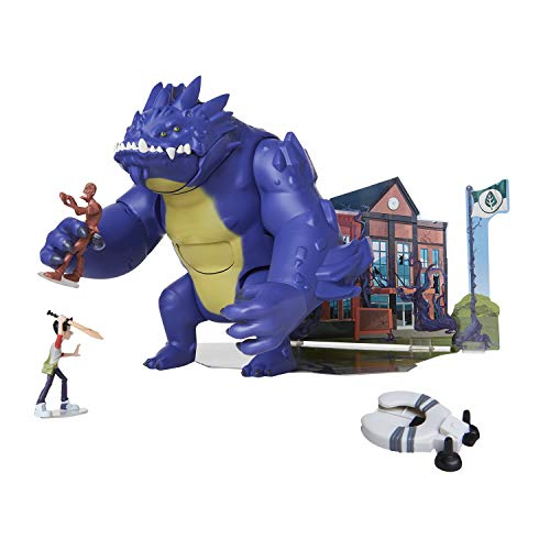 The Last Kids On Earth Chompin' Blarg 9' Action Figure Playset with Jack and Zombie Action Figures,...