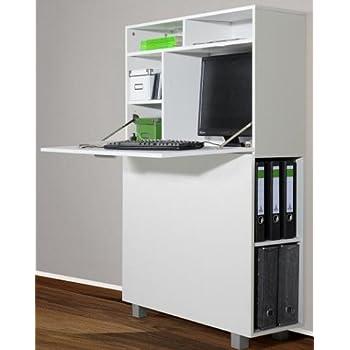 6 6 5 2392 Moderne Secretaire Bureau Cadre Blanc 90 Cm De Large Fabrique En Brd Amazon Fr Cuisine Maison