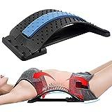 Airsnigi Rückenstrecker Rückendehner Lendenwirbel, 3 Stufen Einstellbar Rückendehner Back Stretcher Rückenmassage Unterstützung für Lendenwirbelsäule...