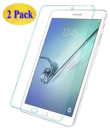Eachy Samsung Galaxy Tab E 9.6 Panzerglas Schutzfolie,[2 Stück] Ultra-klar Bildschirmschutzfolie für Samsung Galaxy Tab E 9.6 (SM-T560) Panzerglasfolie 9,6 Zoll (0,33 mm)