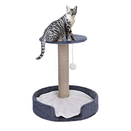 FakeFace Árbol rascador para gatos, cama para escalada, estable con cojín interior...