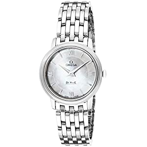 """[オメガ] 腕時計 デ・ビル ホワイトパール文字盤 424.10.27.60.05.001 並行輸入品 シルバー"""""""