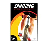 SPINNING® Fitness DVD Spin und Sculpt - Bicicletas estáticas Fitness (Interior), Color n/a