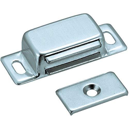 トラスコ TRUSCO マグネットキャッチアルミ製 取付穴寸法3.4×7mm TSM60_6600