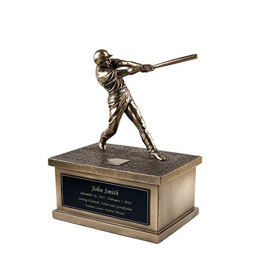 Perfect Memorials Custom Engraved Baseball Urn