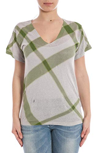 BURBERRY - Frauen-T-Shirt 3906428 GRAU M