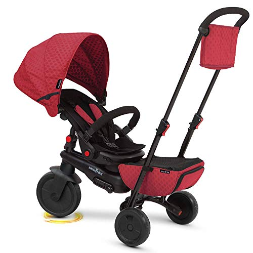 smarTrike Smartfold 700 Folding Baby Tricycle, Red