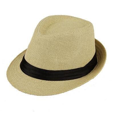 Gorra Playa pata sol sombreros con estilo mujeres hombres panama jazz sombreros vaquero gángster gorra con cinturones de ventas de cinturón negro Sombreros y gorras ( Color : 10 , Size : 55-58cm )