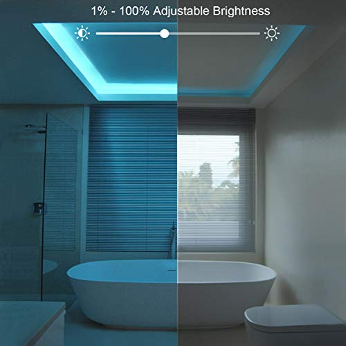 Waterproof Led Strip Lights for Bedroom 50 Feet 7