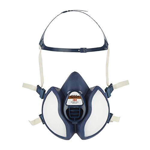 3M Atemschutz-Halbmaske Wartungsfrei 4255+, FFA2P3 R D, gebrauchsfertig, blau