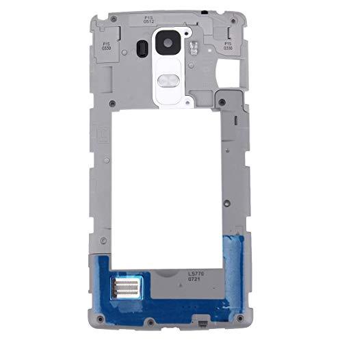 Sevenplusone Vervanging/Vervanging Flex, Reserveonderdeel voor de achterste camera met deurbel voor LG G Stylo / LS770 / H631 en G4 Stylu, Wit