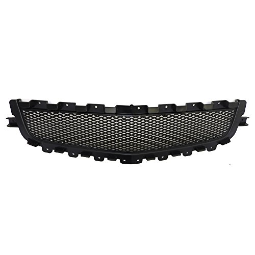 Perfit Liner New Front Black Grille Grill Replacement Compatible With CHEVROLET MALIBU 2008-2012 GM1200600 25784042