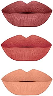 3 PCS. MATTE LIPSTICK SET
