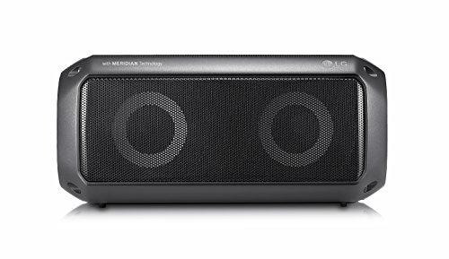 LG PK3 Xboom Go Bluetooth-Party-Lautsprecher 16 Watt 82 x 18 x 82 cm Schwarz