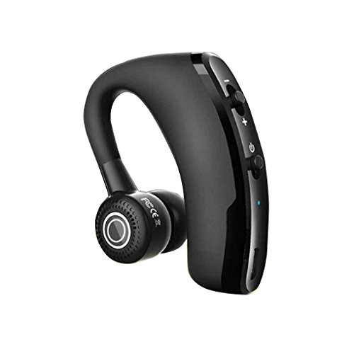 teng hong hui V9 Black Business Bluetooth 4.1 Auricolare CVC6.0 Noise Reduction Nero Auricolare Bluetooth Cuffia Senza Fili di Business Voice Prompt Headset