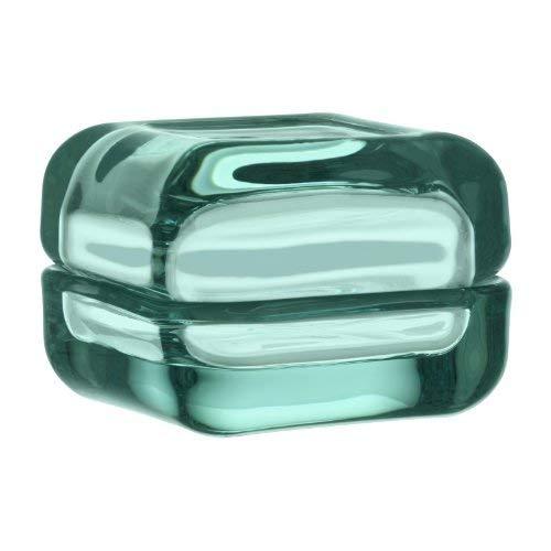 Iittala 111155 Vitriini Box, 60 x 60 mm, wassergrün
