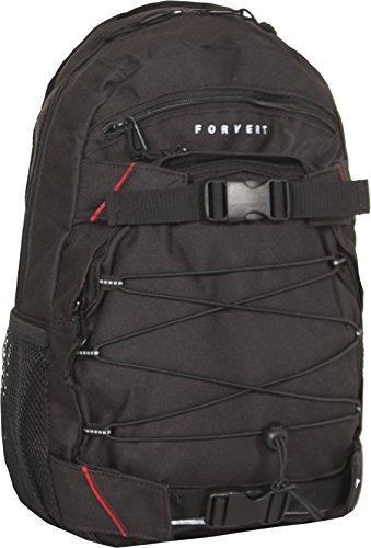 FORVERT Kinder Backpack Small Louis, black, 40 x 25 x 12 cm